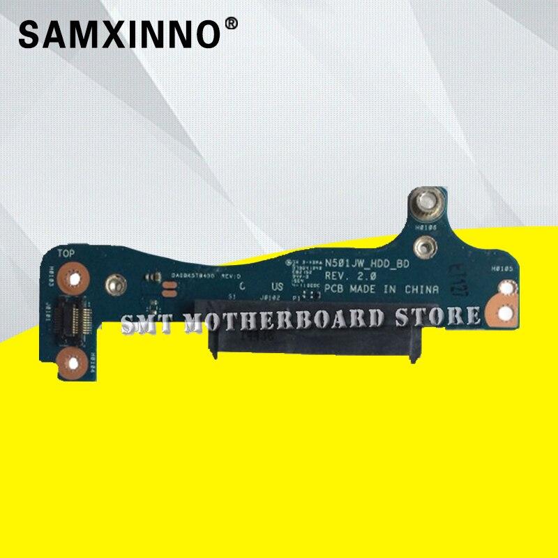 For N501JW UX501J UX50J UX50JW N501J hard-board interface HDD Hard Drive Board Tested Well Motherboard стоимость