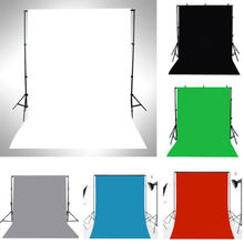 3x5FT Thin Vinyl Photography Backdrops Photo Studio Props Background Solid Color цены