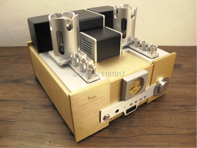 YAQIN TOP MS-650B 845 tube amplifier HIFI EXQUIS signle-ended Class A lamp amp 12AT7 12AU7 oldbuffalo 300b signal ended tube amplifier hifi exquis black aluminum chassis 4 way lamp amp
