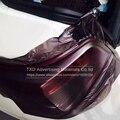 Защитная пленка для задних фар  матовая черная дымовая пленка 30*100 см