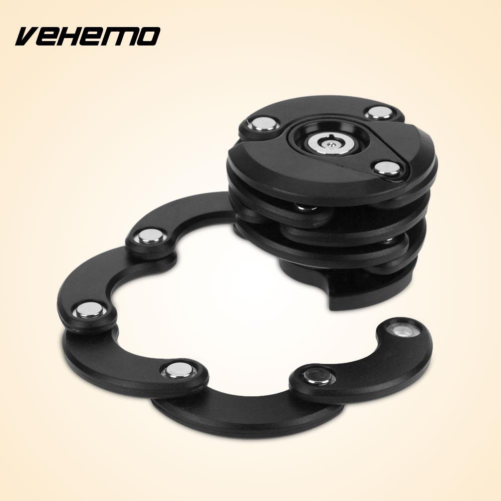 Vehemo Hamburg Lock Bike Lock Motorcycle Lock Anti-Theft Foldable Safety Lock