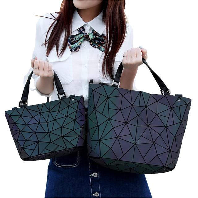 Luxury Handbags Women Bag Designer Bolsas Victor Hugo Obag Handles Luminous Messenger Bags Handbag Set