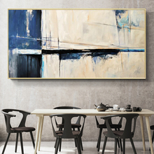 Modern Abstract Oil Painting Posters and Prints Wall Art Canvas Bridge Pictures for Living Room Decor No Frame