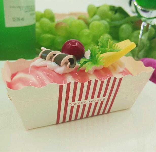 simulated ice cream fruit basket customized food food model