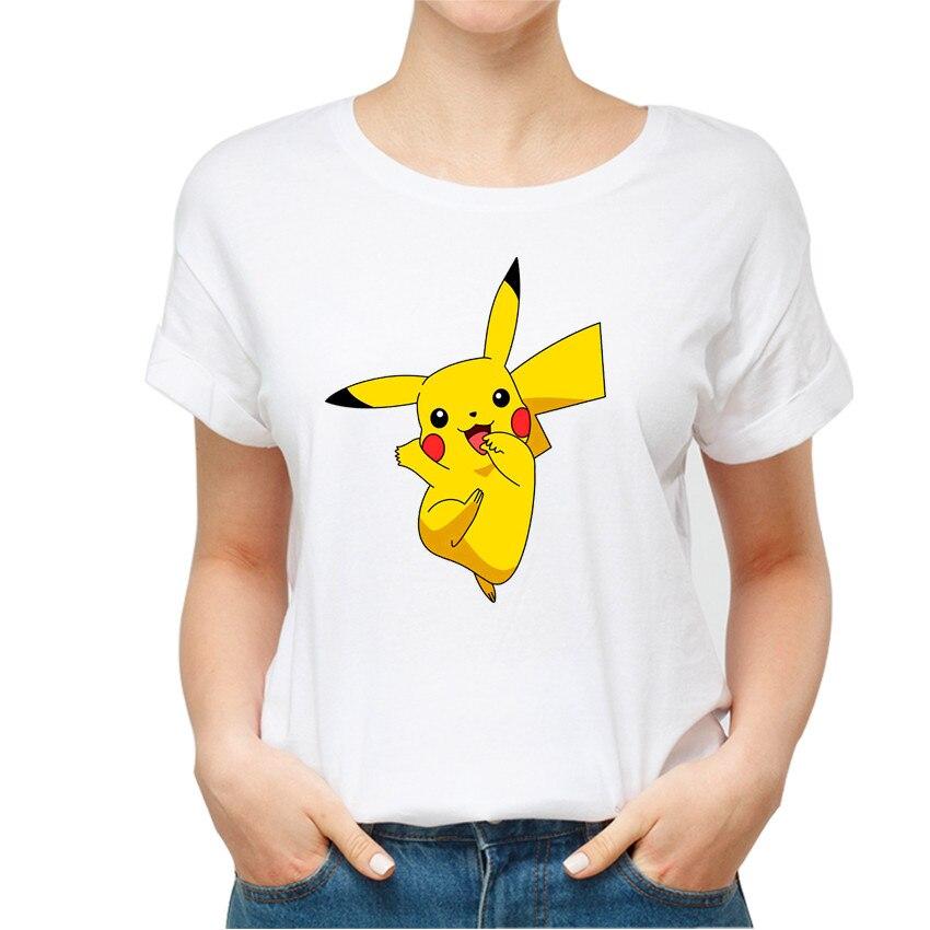 summer-style-fashion-font-b-pokemon-b-font-harajuku-female-t-shirt-lovely-pikachu-print-kawaii-lady-t-shirt-casual-cartoon-white-women-clothes
