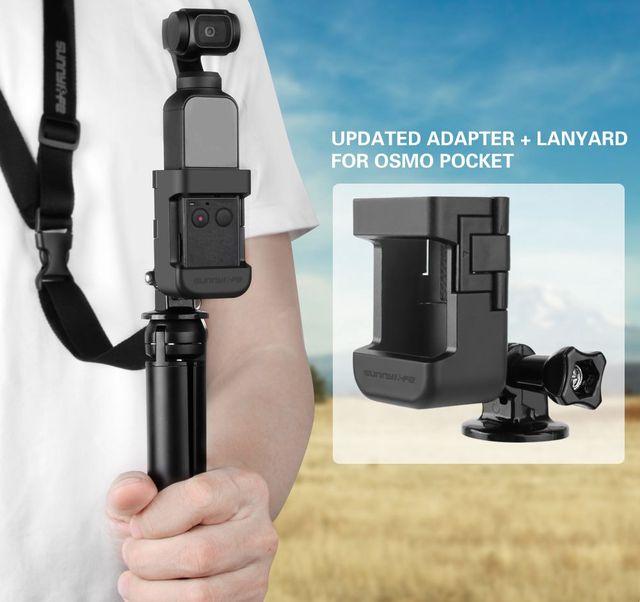 Cập Nhật Adapter Mở Rộng Công Tắc Kết Nối Cho DJI OSMO Bỏ Túi Gimbal Camera Phụ Kiện Gắn Với Dây Buộc Ổn Định Giá Đỡ