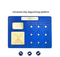 K88 Universal NAND PICE Chip Glue Removal Platform Constant Temperature IC Chip Positioning Plate for A8 A9 A10 A11 A12