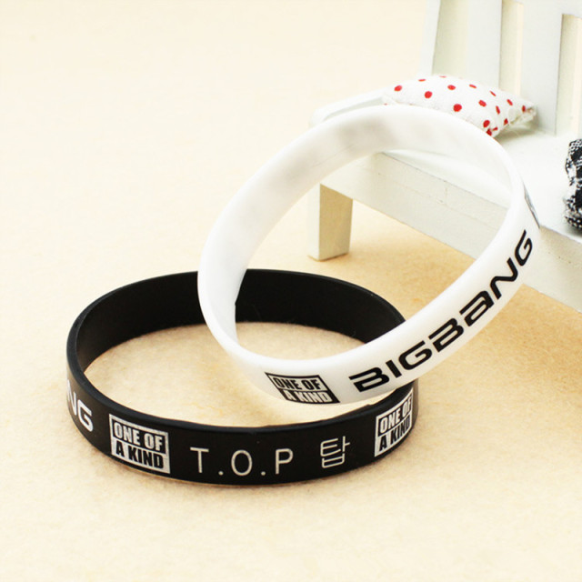 Big Bang Silicon Bracelets