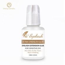 10ml Hieyelash 3-4seconds Eyelash Extension Glue Professional  No Odor Tear Made In Korea