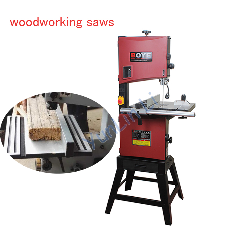 Wood Sawing Machine Woodworking Saw Machinery 10 Inch Wood Working Tools Saw Board Line Sawing Machine 550W MJ10 mobile sawing