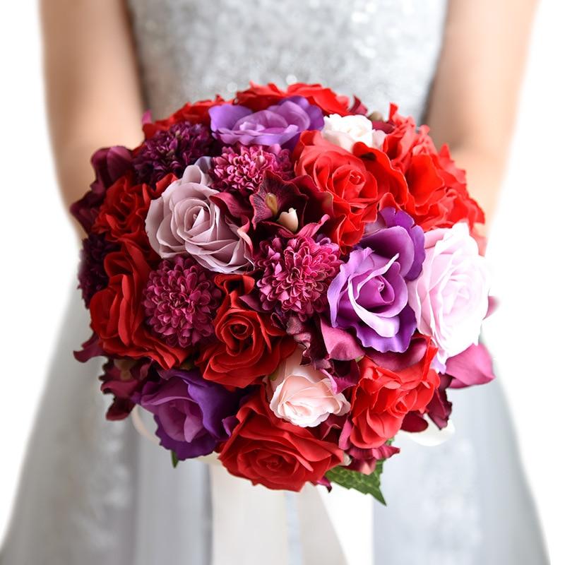 Popular Beach Wedding Bridal Bouquet Buy Cheap Beach Wedding Bridal Bouquet Lots From China