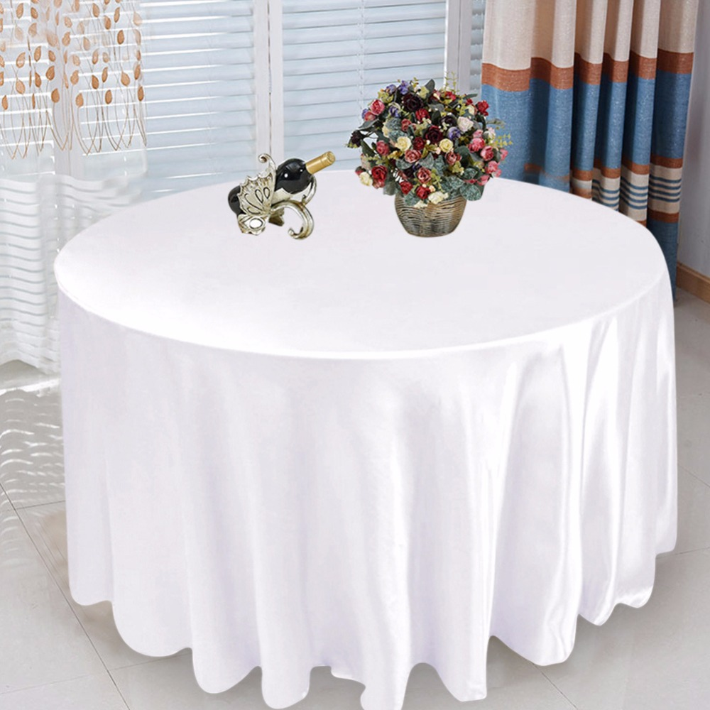 compare prices on modern tablecloths online shoppingbuy low  - pcs round tablecloth modern table covers elegant wedding table cloth tabledecoration accessories white black xinch