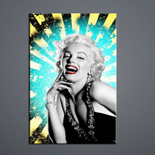 Hot sexy open photos b f wallpaper Wall art painting Poster goddess Marilyn Monroe Body photograph Wholesale and retail