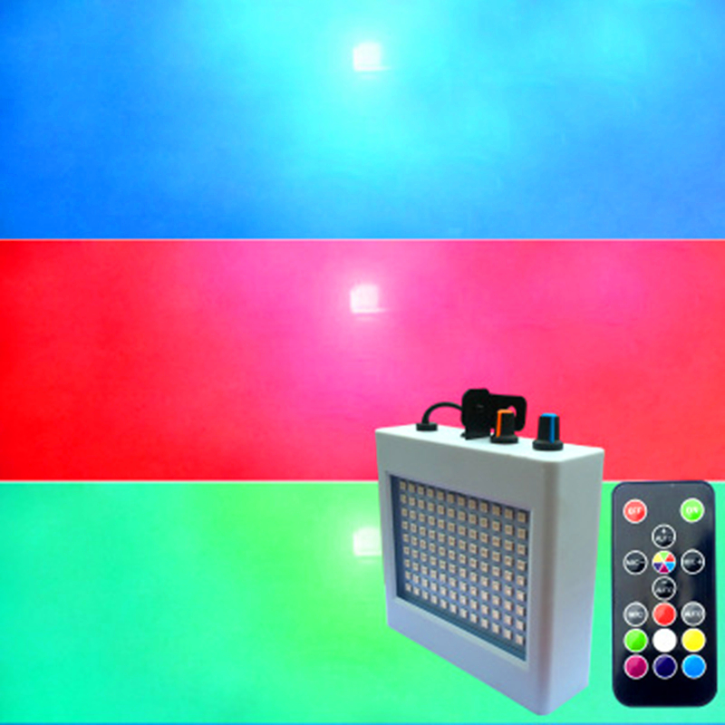 LED Strobe Light KTV Bar Frequency Flash Lamp 108leds Control Flashing Ballroom Lights Emergency Warning SMD Strobe Lamp