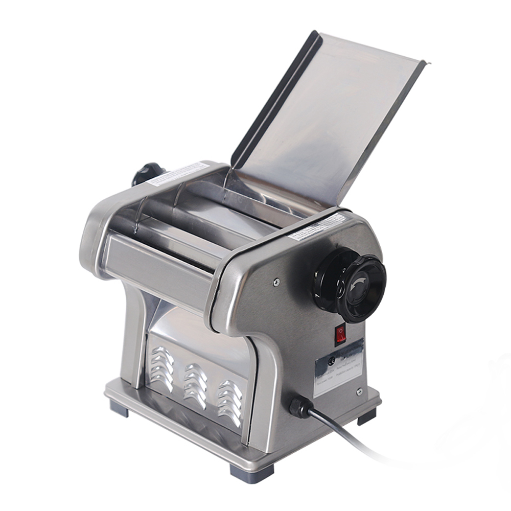 ITOP Stainless Steel 2 Blades Noodle Machine, 0.5-3mm Thickness Heavy Duty Noodle Maker,Pasta Maker Pasta Cutter Machine