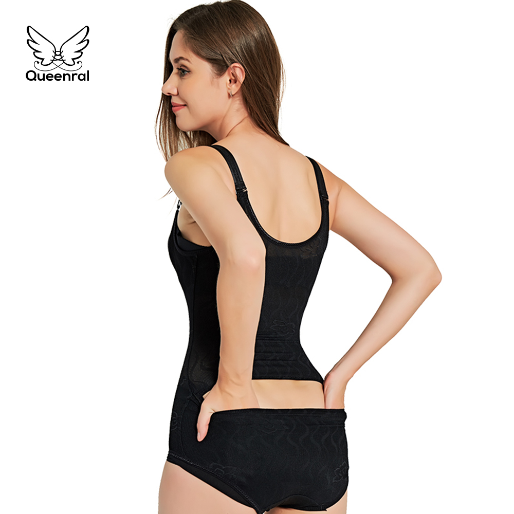 554279749843a Waist trainer 2 pieces Modeling Strap tummy shaper Slimming corsets body  shapers women butt lifter Bodysuit Corrective Underwear-in Bodysuits from  Underwear ...