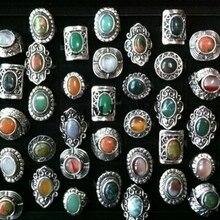 خواتم حجرية طبيعية عتيقة قابلة للتعديل مجوهرات عالية الجودة للبيع بالجملة