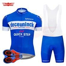 2019 Pro Team быстрый шаг Велоспорт Джерси 9D нагрудник комплект велосипед Костюмы Ropa cipusm велосипедный спорт одежда мужские короткие Майо Culotte