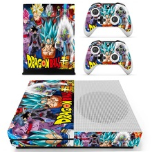 Anime Dragon Ball Super Skin Sticker Decal For Xbox One S Console and Controller Skins Stickers for Xbox One Slim Skin Vinyl