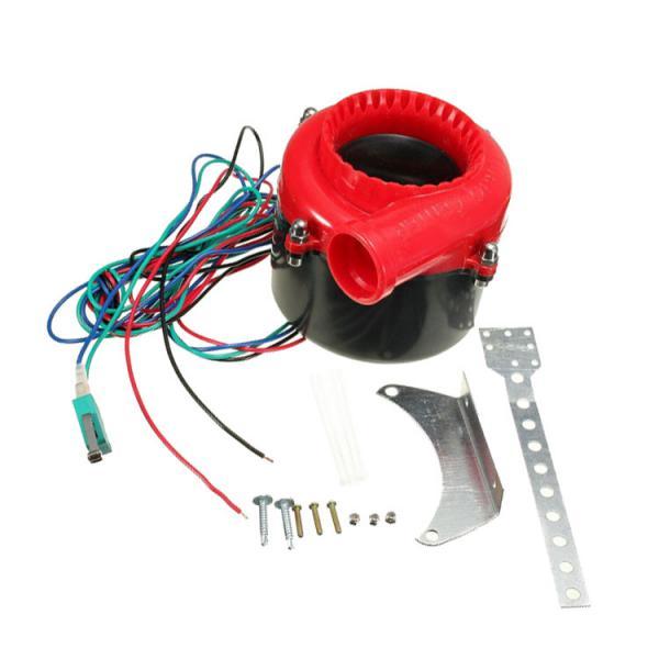 Carro falso válvula de descarga explodir log som bov eletrônico turbo válvula simulador de som acessórios do carro