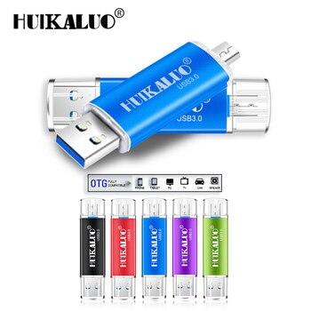 Full capacity Usb 3.0 OTG USB flash drive for SmartPhone/Tablet/PC 16GB 32GB 64GB 128GB Pendrive High speed pen drive