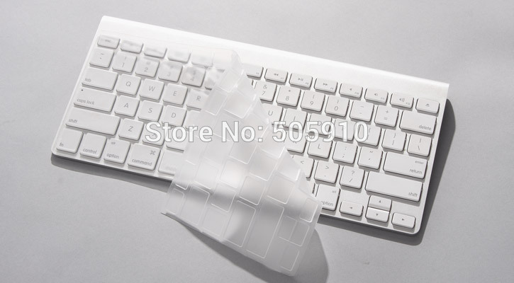 NEW-ARRIVAL-CLEAR-Keyboard-Cover-Skin-for-iMac-Keyboard-G6-Wireless-Keyboard-Protector-Cover-Skin-Free