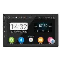 2 Din Android 7,0 автомобилей Радио мультимедийный плеер универсальный gps навигации Bluetooth 2din Авторадио Стерео аудио камеры