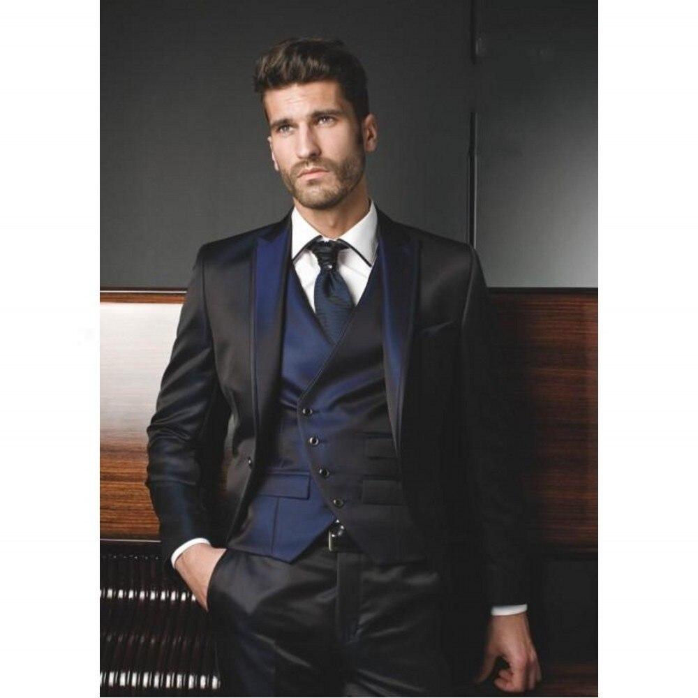 Aliexpress.com : Buy 2017 Latest Coat Pant Designs Italian Black ...