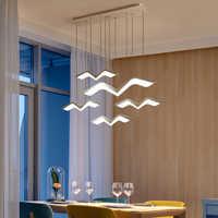 Lustre moderne pendentif LED pour salle à manger salon Bar suspension luminaire suspendu lustre luminaires