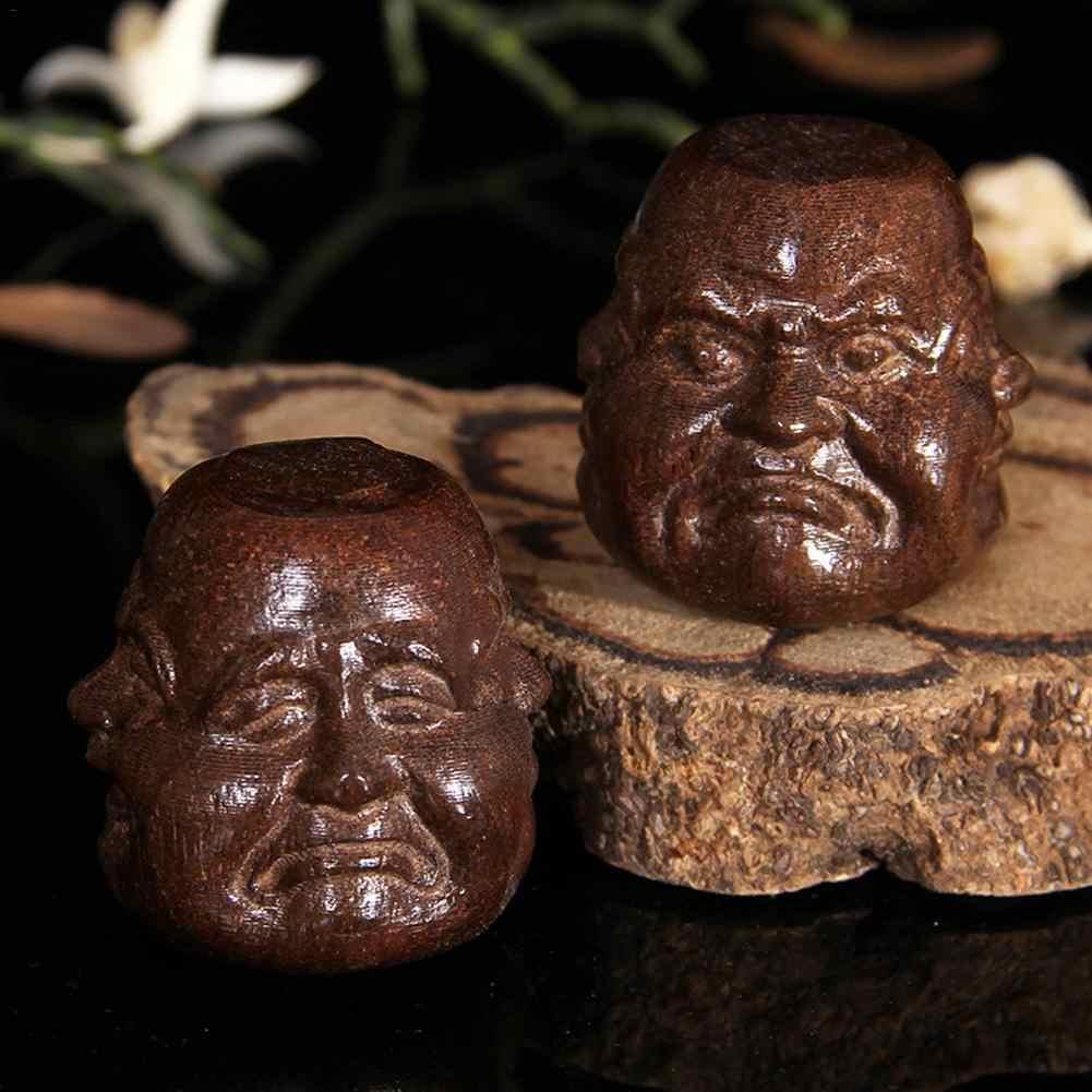 עץ גילוף בוטיק דקור ברכה בודהה אמנויות ומלאכות פסל עיצוב הבית מזל מתנות חדש