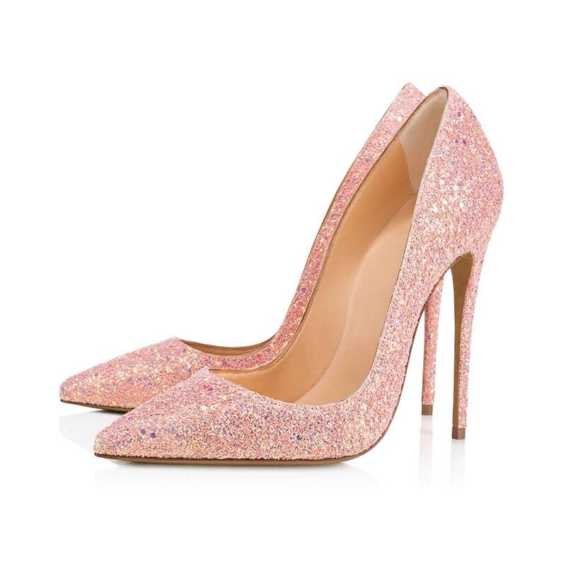 Bout Mode Tl Femmes Spéciales a0087 Sexy Mince Élégant Pointu Pompes Hauts 1 Offres Féminine De Stilettos Talons Noce Chaussures qFf8waxt