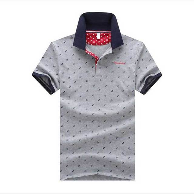 2016 БОЛЬШОЙ РАЗМЕР, Высокое качество одежды, мужская поло slim fit качество логотип новый случайный, мужчины рубашку, T 1584