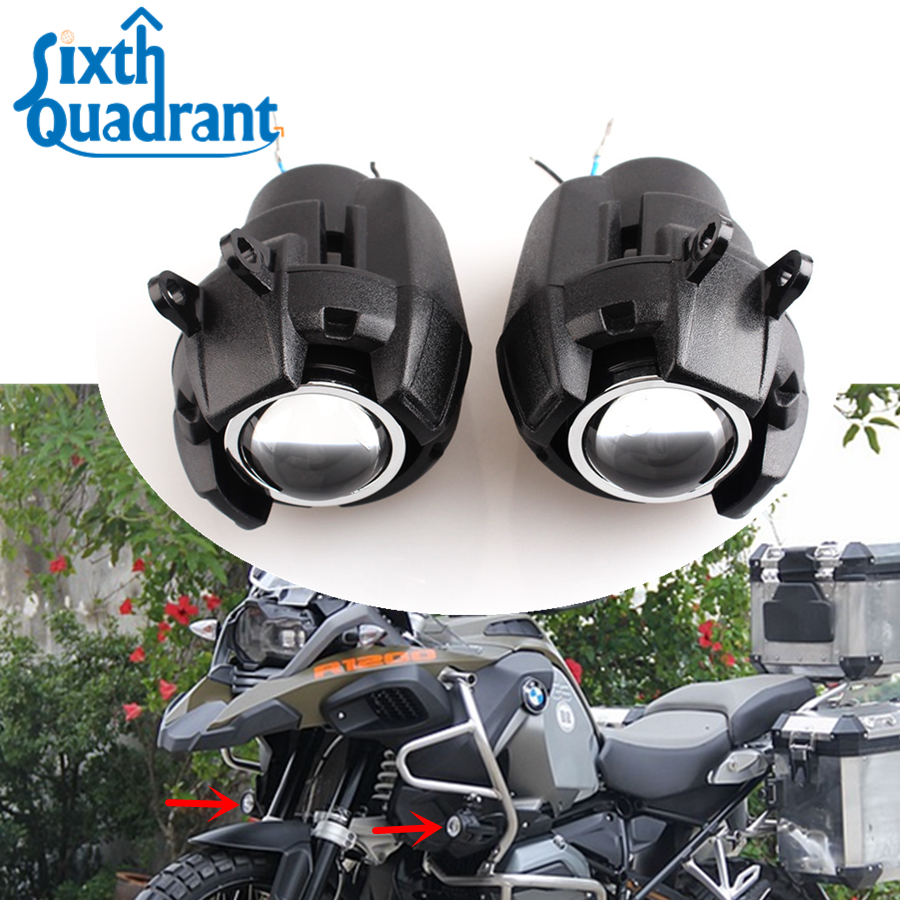 Motorcycle Fog Lights 2pc Auxiliary Driving Light