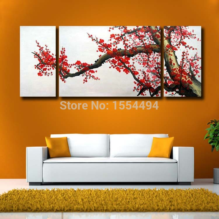 Top Framed hand painted large modern canvas oil painting Japanese  UY03