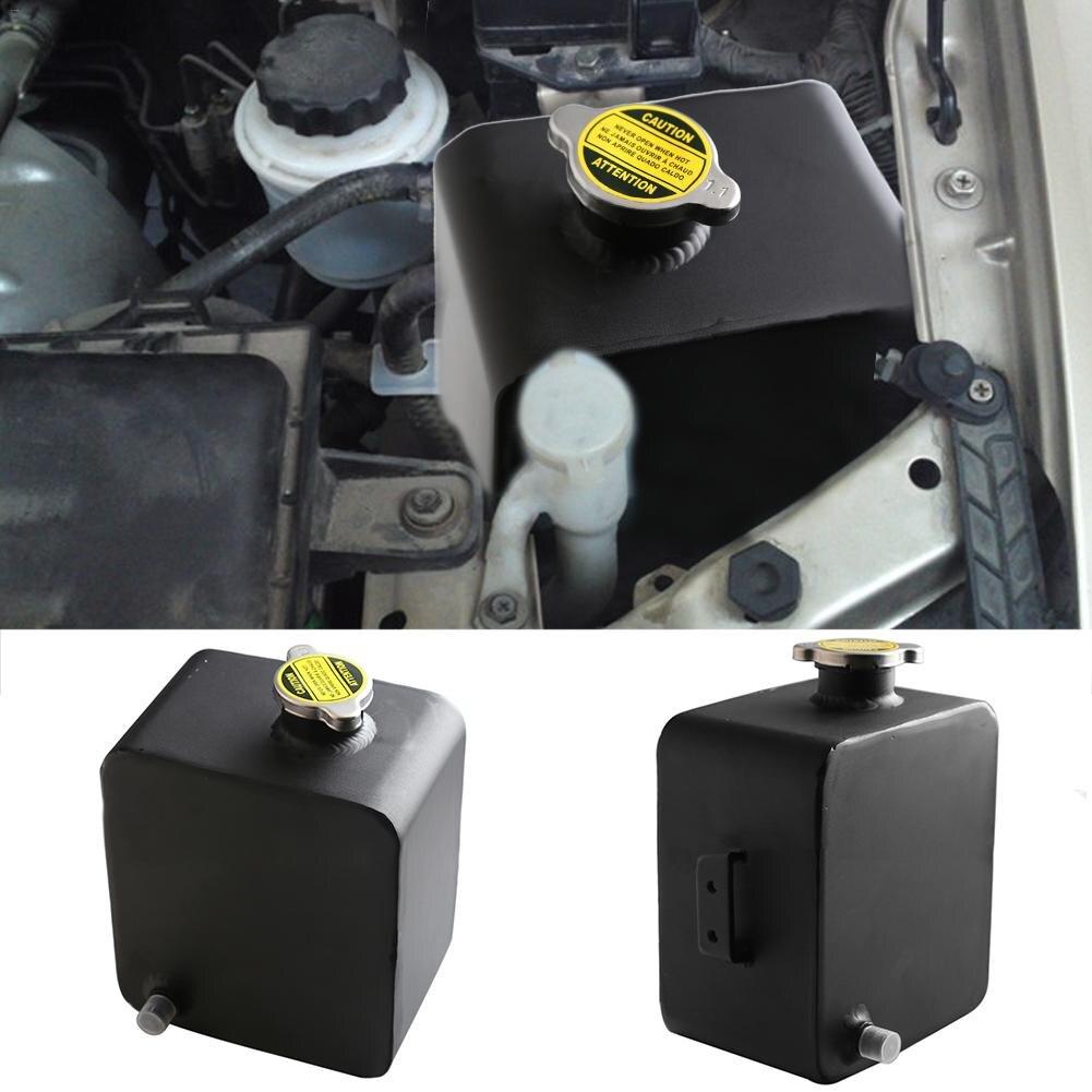 Réservoir en-tête léger universel de réservoir d'eau d'alliage d'aluminium de la voiture 2.5L avec le chapeau pour Toyota Tacoma tous les modèles 1995-201 J3