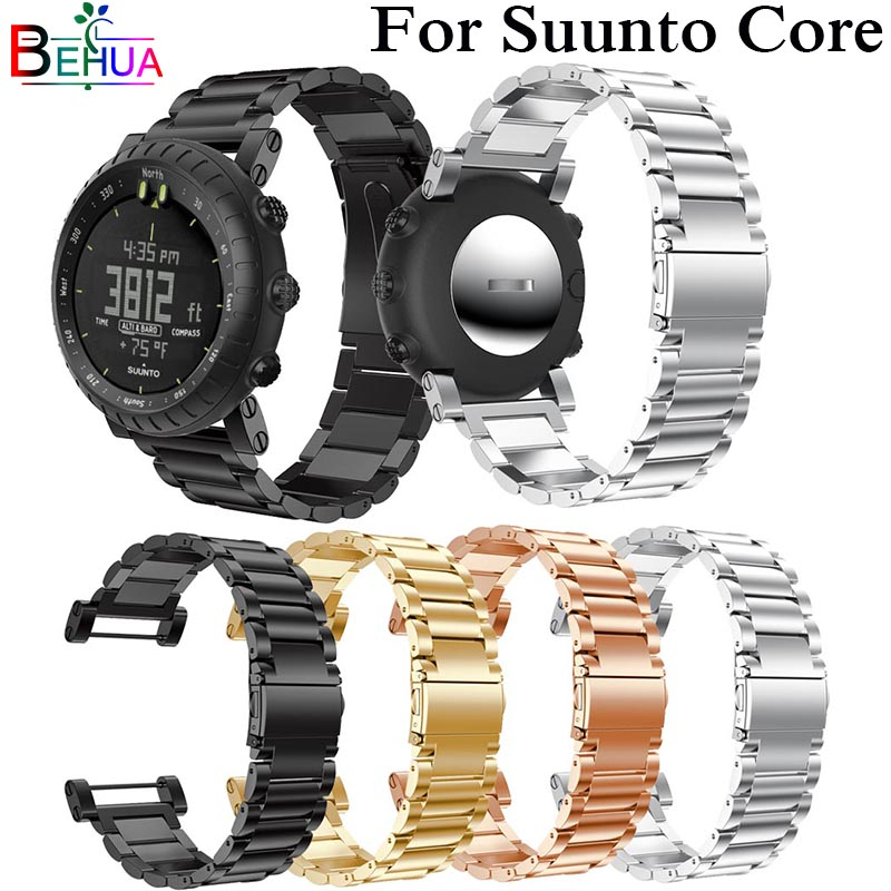 Stainless Steel Strap For Suunto Core Bracelet Wristband Adjustable Replacement For Suunto Core Smart Watch Band 175cm Wristband
