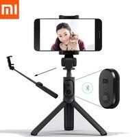 الأصلي xiaomi بلوتوث selfie عصا ترايبود ، لاسلكي للتحكم ، 360 درجة بالتناوب قوس ، آل سبيكة مكافحة الانزلاق تصميم