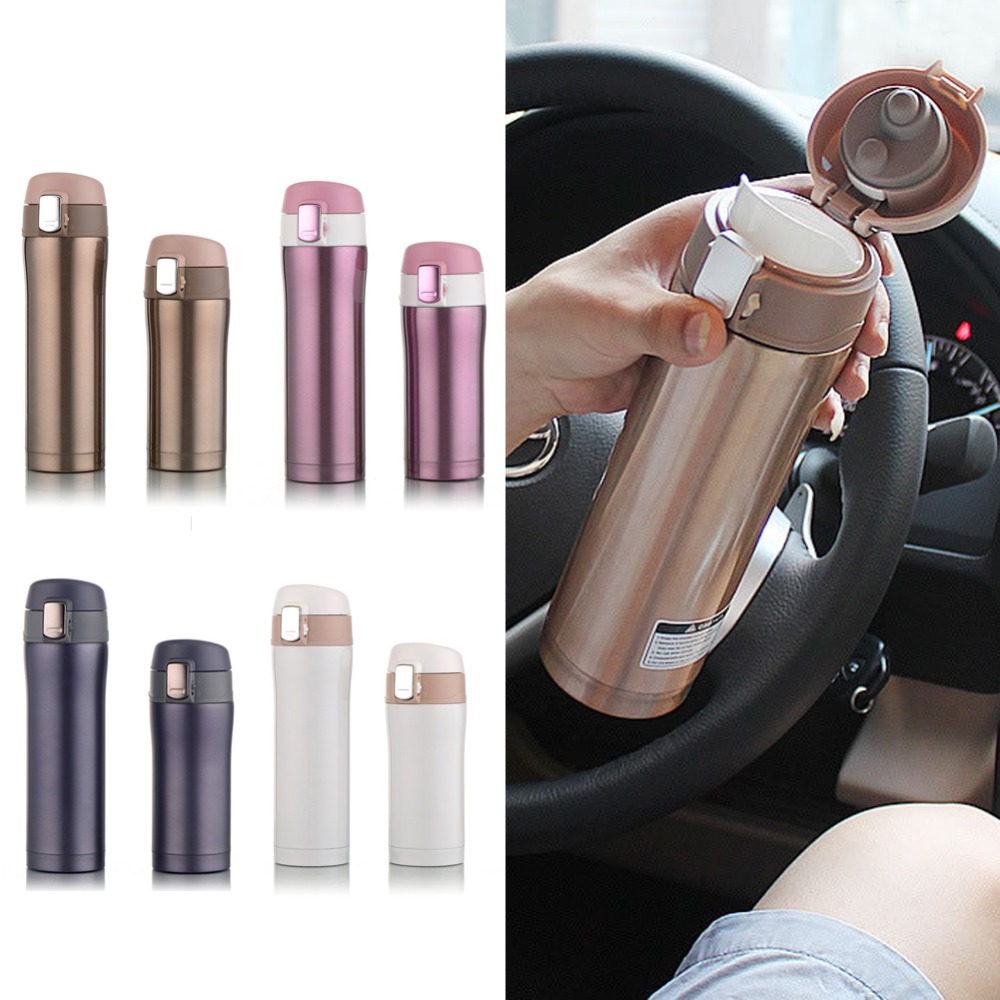 Vacuum water bottle Stainless Steel Bottle Belly Thermal Bottle for water Insulated Tumbler For Car Coffee Z07 Drop Shipping