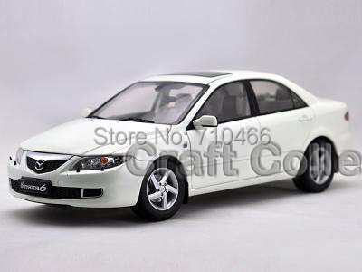 White 2006 New 1 18 Mazda 6 Alloy Scale Models Limited Edition Brinquedos Metail Toys