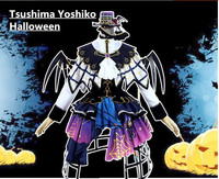 Liebe-live! sonnenschein Aqours SS Tsushima Yoshiko Halloween awakening cosplay kostüm mit Kappe
