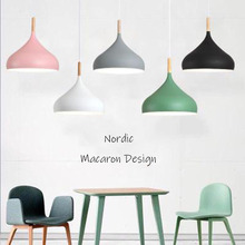 Nordic Colorful Macaron Pendant Lights Modern Creative LED Pendant Lamps Restaurant Living Dinning Room Bar Coffee Shop Lighting t simple crystal fashion pendant light for dinging room home indoor lighting modern creative led chip lamps bar coffee shop