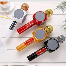 Модный ручной беспроводной микрофон WS1816 KTV, динамик, реверберация, голос, конденсатор, запись караоке, живой объемный звук