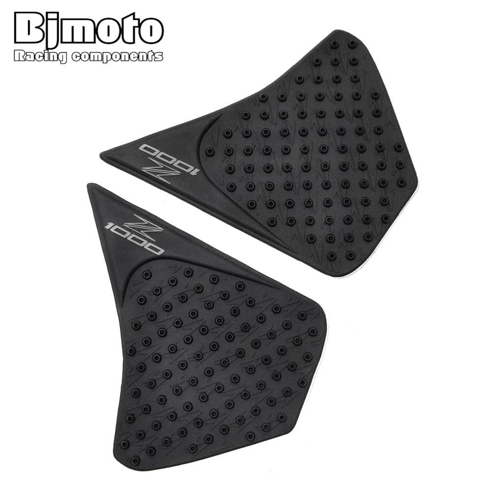 Tpp01-z1000/14-bk For Kawasaki Z1000 2014-2016 Anti Slip Sticker Motorcycle Tank Traction Pad Side Knee Grip Protector Jade White Covers & Ornamental Mouldings