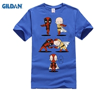 Dead Pool and One Punch Man Fusion Tee