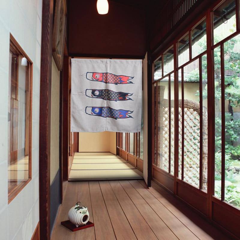 Geliefde Karper Japanse Scheidingswand Keuken Decoraive Deur Gordijnen  &VC47