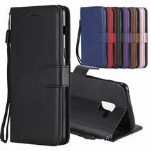 Кожаный чехол-бумажник с откидной крышкой для Samsung Galaxy A8 2018, чехол, чехол для Samsung Galaxy A8 Plus 2018, чехол для Samsung A8 2018, чехлы для телефонов