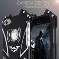 Casos de telefone de venda quente para apple iphone 5s 5 se 5c Heróis Batman O Cavaleiro Das Trevas Filme de Metal Tampa de Alumínio Elemento Bumper caso