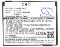 Cameron Sino 900mAh Battery 338937010208, HJS100 for Becker HJS 100, HJS-100, Map Pilot