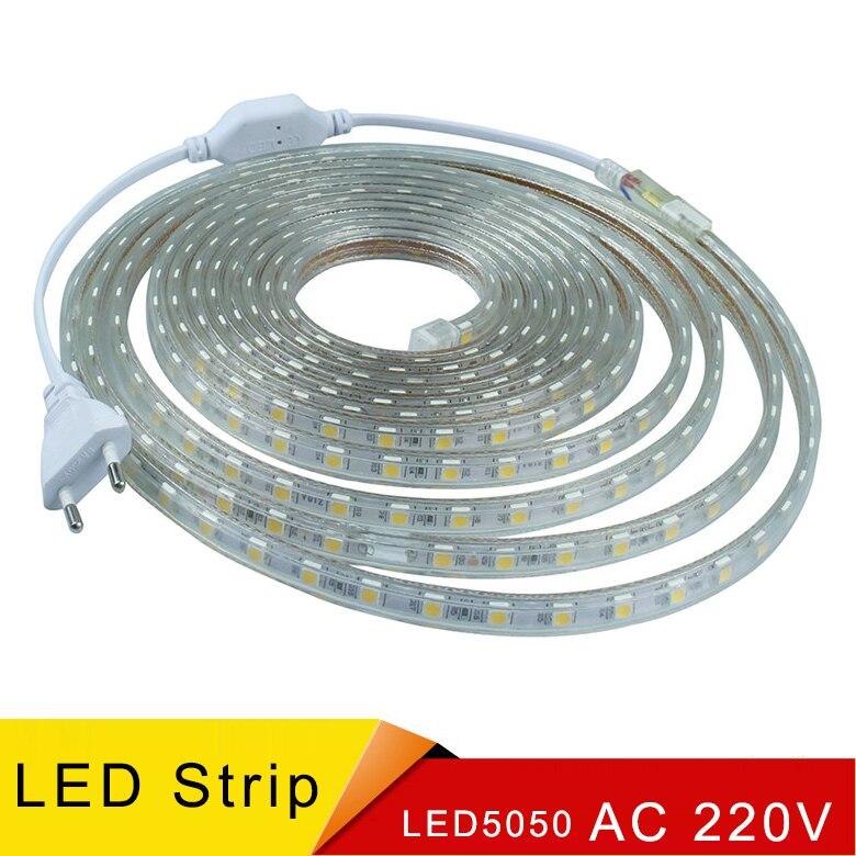Iluminacion led streifen licht smd 5050 алюминиевый profil ip68