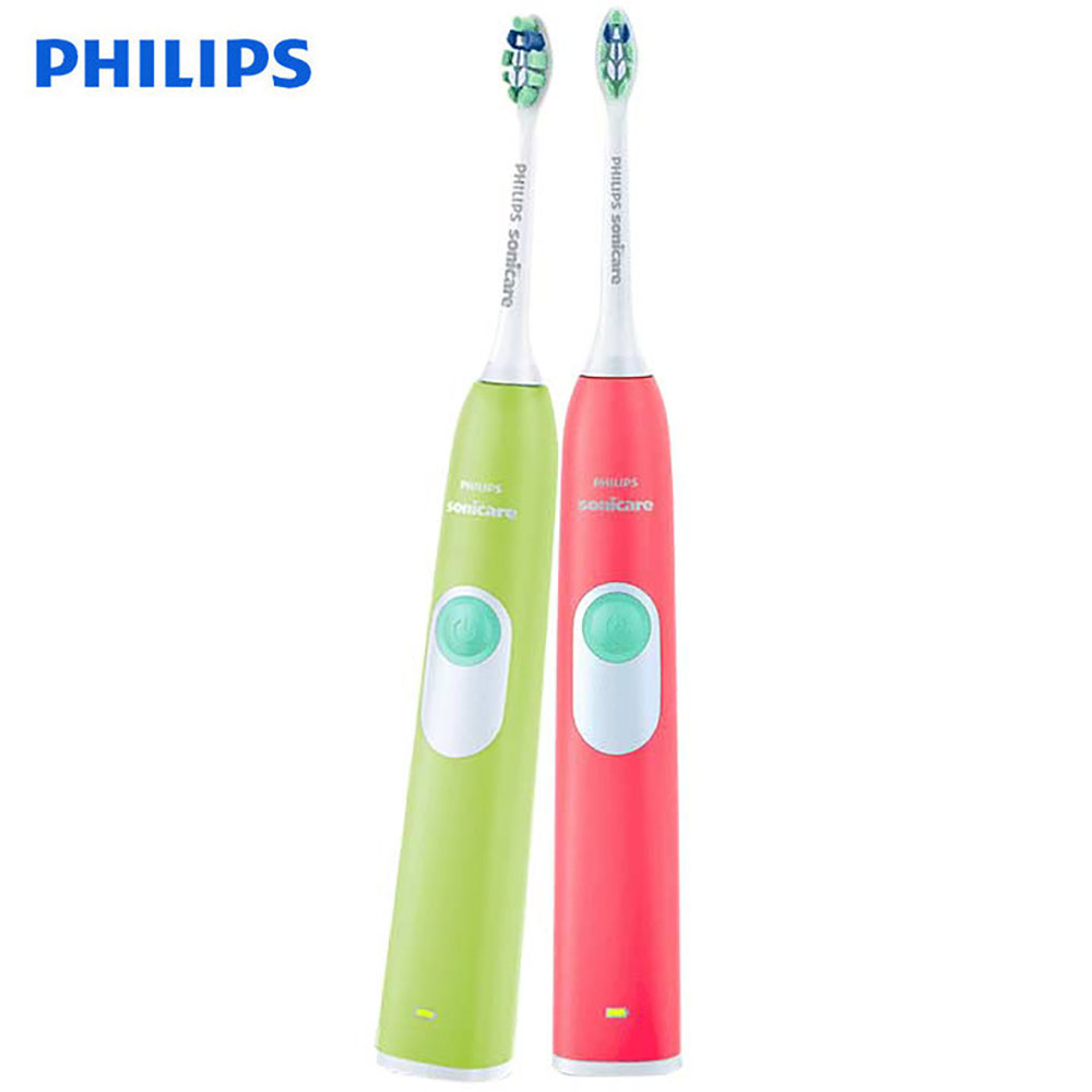 Philips Sonicare Electric Toothbrush Youth Couples Version HX6225/16 HX6215/29 with 31000 r/min Charge Indicator for Adult цена и фото